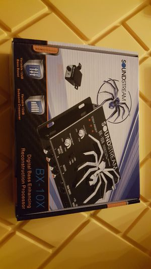 Soundstream bx-10x epicenter brand new for Sale in San Bernardino, CA