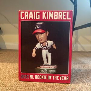 Craig Kimbrel 2011 NL Rookies Of The Year Bobble Head for Sale in Shelton, CT