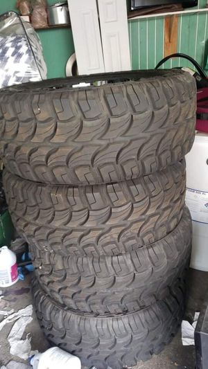"""33"""" wheels and 20"""" rim set for Sale in Westminster, CA"""