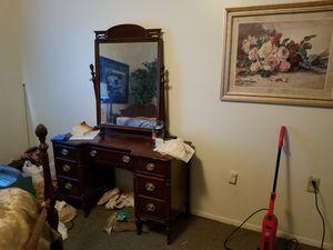 Antique pineapple wood vanity for Sale in Prattville, AL