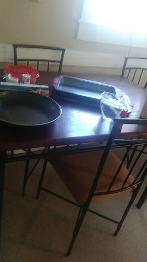Small kitchen table with 4 chairs for Sale in Lynn, MA
