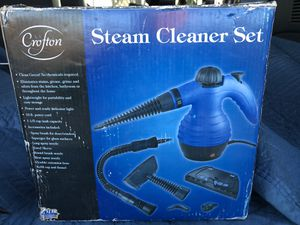 Steam Cleaner Set by Crofton save big compared to EBay for Sale in Union, NJ