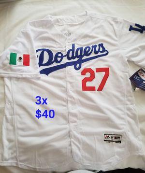 Dodgers Alex verdugo viva mexico edition jersey for Sale in Ontario, CA