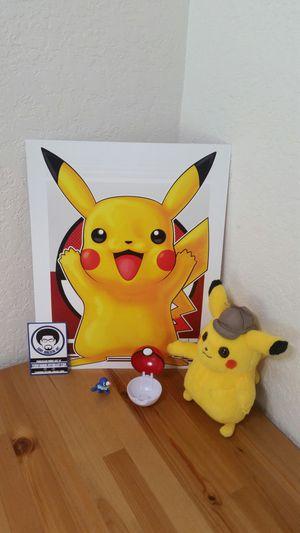 Poke'mon Pikachu Bundle for Sale in Sunrise, FL