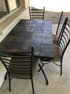 5 Piece Kitchen/Patio Dining Table & Coffee Table/End Table Set for Sale in Glendale, AZ