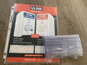 ULine Clear Labels made for Metal shelving! for Sale in Burlingame, CA