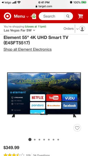 New 55 inch smart tv for Sale in Los Angeles, CA