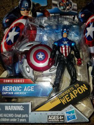 Hasbro Captain America action figures for Sale in Las Vegas, NV
