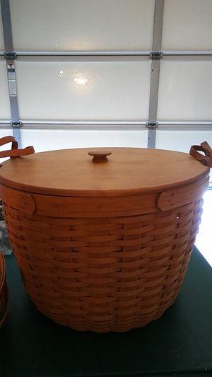 2 Longaberger baskets for Sale in La Mirada, CA