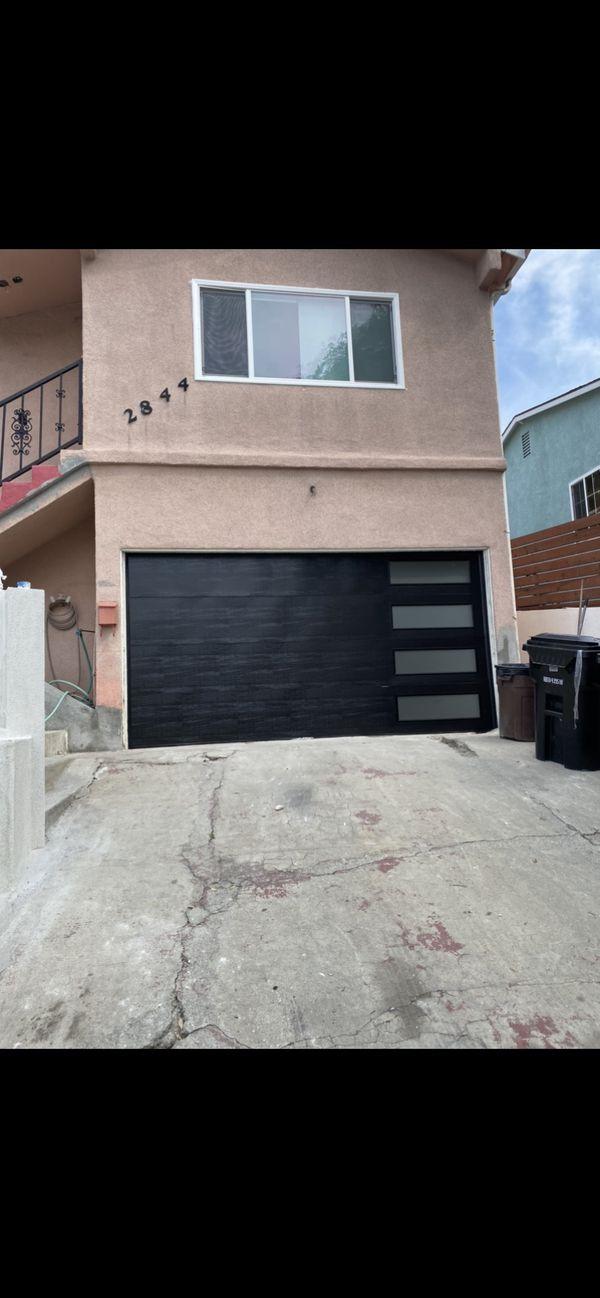 Garage door and