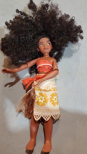 Moana barbie doll for Sale in Roseville, MI