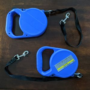 Retractable Dog Leashes (2) for Sale in Sacramento, CA