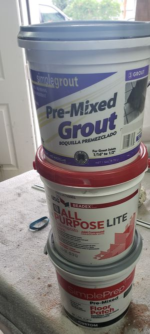 Joint Compound, Floor Patch, Grout, for Sale in Eatonville, WA