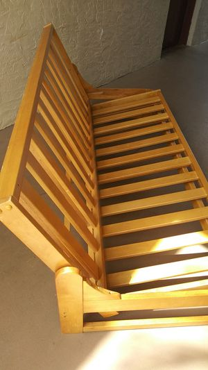 Futon solid strong. for Sale in Tampa, FL
