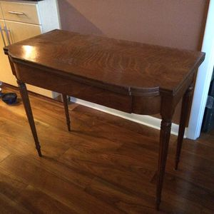 REDUCED AGAIN!! Antique Game Table with swivel top!! for Sale in Austin, TX