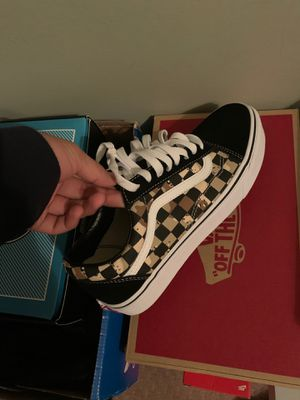 Vans SIZE 7.5 !!! 40$ Used ONCE for Sale in Malvern, PA