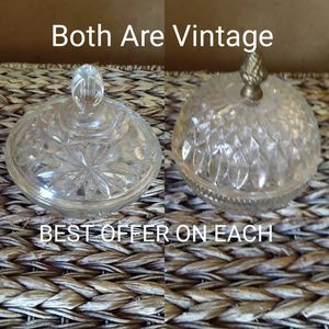 2 Vintage Candy Dishes for Sale in Lafayette, LA
