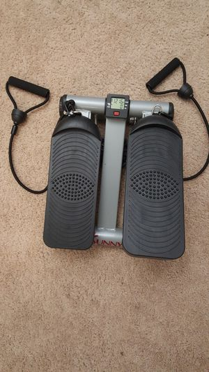Sunny Health & Fitness Mini Stepper With Resistance Band for Sale in Vienna, VA