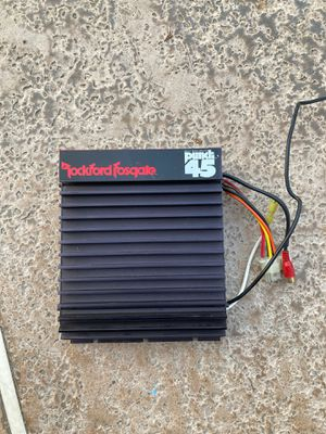 Rockford fosgate mosfet punch 45 amplifier for Sale in Fresno, CA
