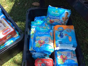 Pampers and Huggies swimmer for Sale in Douglasville, GA