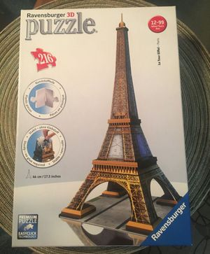 3D puzzle game 216 for Sale in Lincoln Acres, CA
