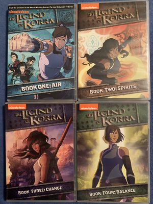 Four Legend of Korra DVD Set - Over 50 Episodes for Sale in Wood Dale, IL