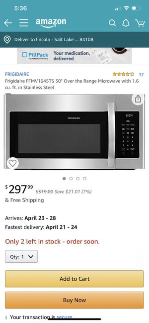 microwave frigidaire for Sale in Pleasant Grove, UT