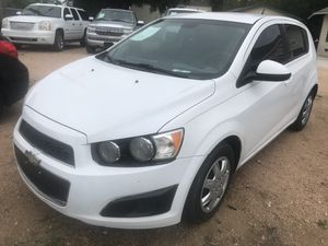 2013 CHEVY SONIC. WE IN-HOUSE FINANCE for Sale in San Antonio, TX