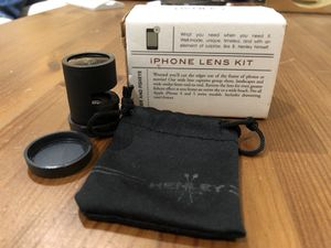 Henley Brands iPhone 5 lens kit (fisheye, wide angle, macro) for Sale in San Diego, CA