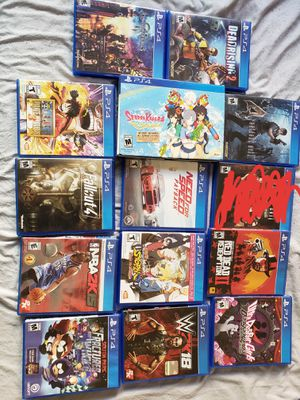 Ps4 games for Sale in San Gabriel, CA