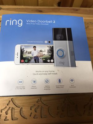 Ring 2 Video Door bell for Sale in Puyallup, WA