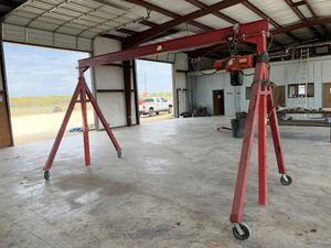 Dayton A Frame Portable Crane (4,000 lb Capacity) for Sale in Canyon Lake, TX