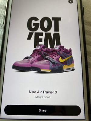 Nike Air Trainer 3 Viotech for Sale in Littleton, CO