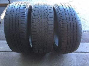 Used tires 275-50-22 Bridgestone (3) infinity suv , Escalade , f150, expedition , navigator for Sale in San Diego, CA