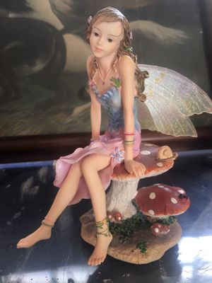 Stunning Collectable glass Fairy for Sale in San Jose, CA