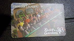 4 Busch Gardens tickets with meal vouchers for Sale in NORTH DINWIDDIE, VA