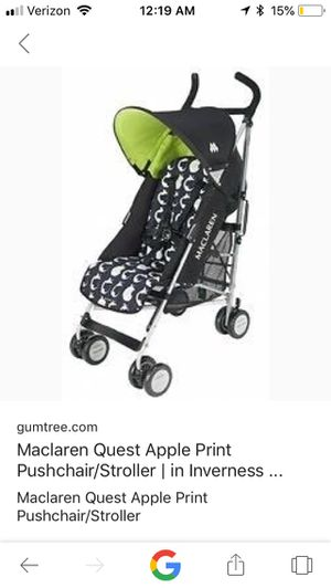 Maclaren stroller- limited edition print for Sale in Portland, OR