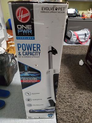 Brand new open box Hoover ONEPWR Evolve Pet Cordless Upright Vacuum Cleaner - Kit BH52420PC for Sale in San Jose, CA