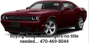 2010 DODGE CHALLENGERS AND NEWER for Sale in Lithonia, GA