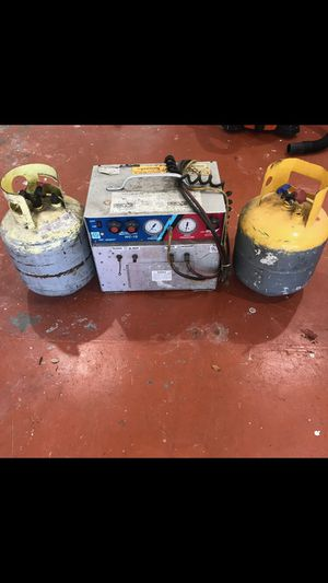 Freon Recovery Unit with Two Tanks for Sale in Hialeah, FL