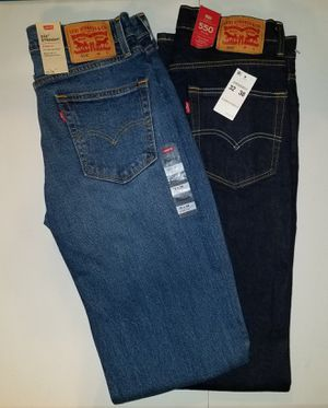 New levi Jean's size 32x38 $30 each for Sale in Belleville, IL
