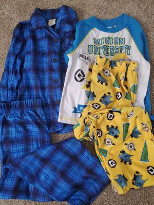 Kids pajamas boys clothes pants size 6/7 for Sale in Denver, CO
