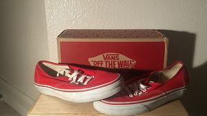 Authentic red vans for Sale in San Diego, CA