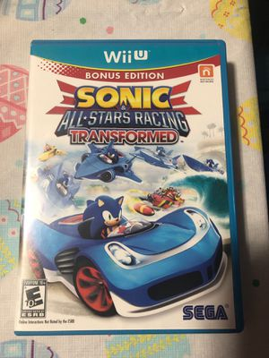Nintendo Wii U Sonic All Stars Racing for Sale in Chicago, IL