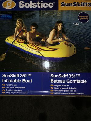 Inflatable boat for 3 passengers for Sale in Pico Rivera, CA