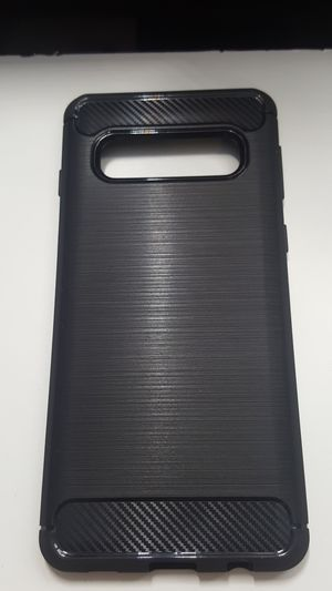 Case for samsung galaxy s10 black slimcase new 7firm shiping only for Sale in Phoenix, AZ