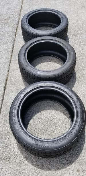 Great Deal- 3 Michelin Pilot Sport A/S Plus 255/45ZR18 for Sale in Seattle, WA