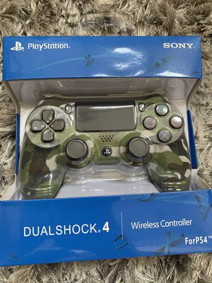 Ps4 controller New CAMO for Sale in Irvine, CA