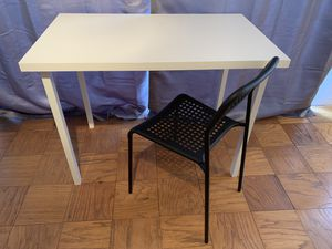 MOVING SALE!! IKEA desk and chair. Originally $45, yours for $20! for Sale in Annandale, VA