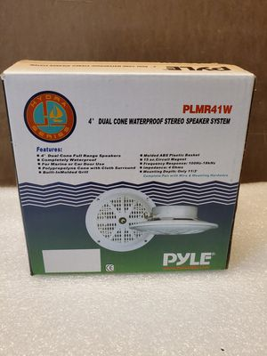 "PYLE 4"" marine speakers for Sale in Hackensack, MN"